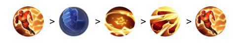 Cách combo Flash 2