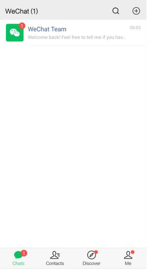 Hoàn thành quá trình đăng ký tài khoản Wechat