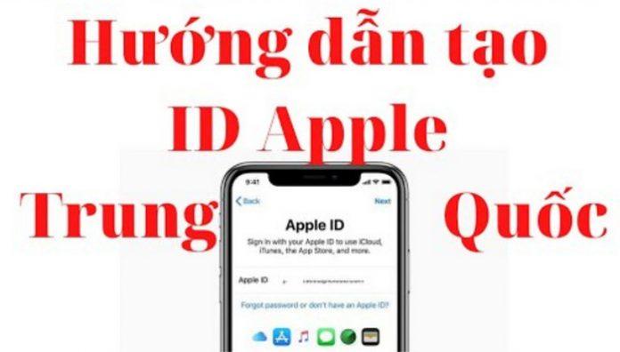 Hướng dẫn tạo ID Apple
