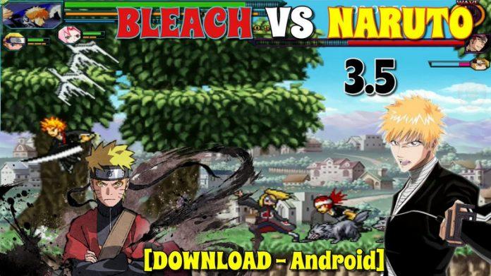 Cách chơi Bleach vs Naruto 3.5 online