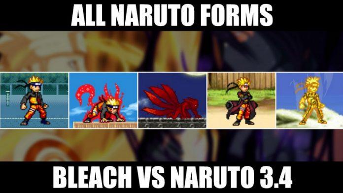 Bleach vs Naruto 3.4