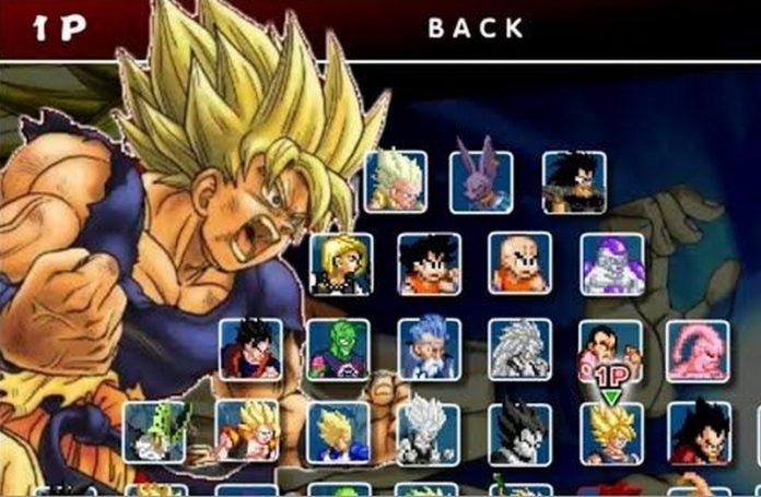 Game Dragon Ball Fierce Fighting 2.9