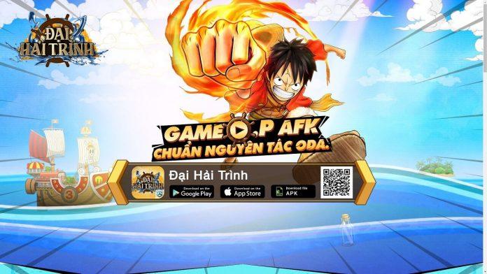 landing page game Đại Hải Trình